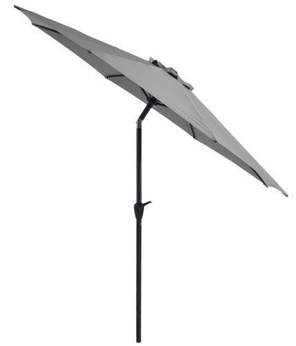 Aurinkovarjo AGGER Ø300 oliivi