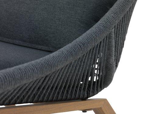 Krzesło DANNEMARE szary