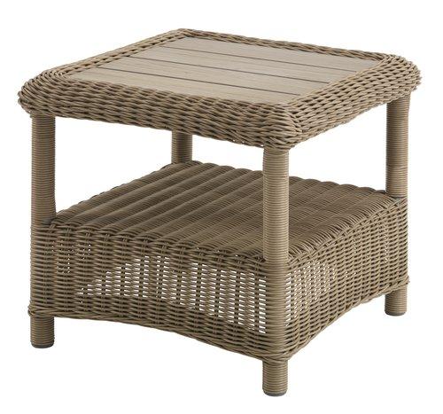Tavolino FALKENBERG P50xL50xH45 naturale