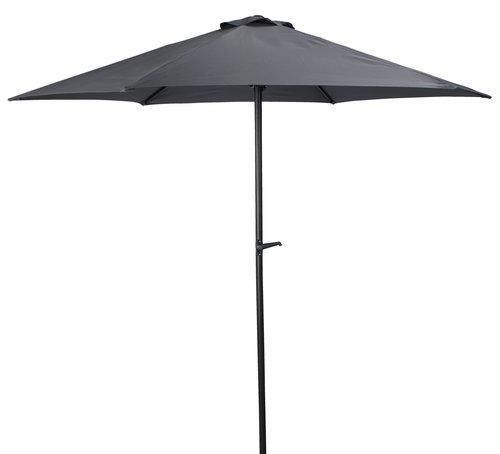 Ομπρέλα ηλίου υπ. NAPPEDAM Ø250 σκ. γκρι
