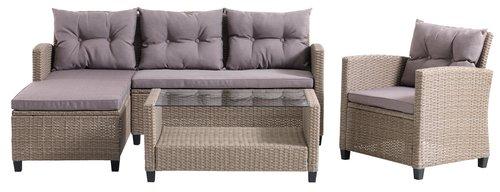 Комплект меблів MORA 4м натура
