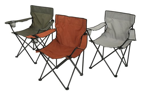 Kempingová stolička HALDBAKKEN rôzne