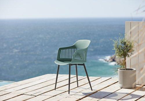 Krzesło RAVNEBAKKE zielony
