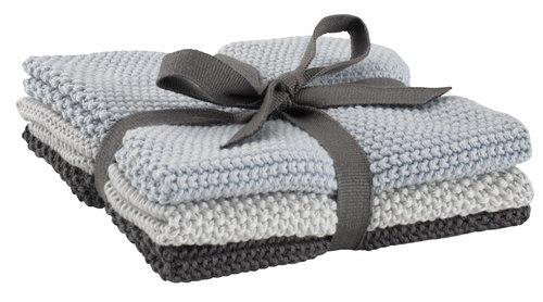 Кърпа за почистване LOKE 25x25см 3бр/п-т