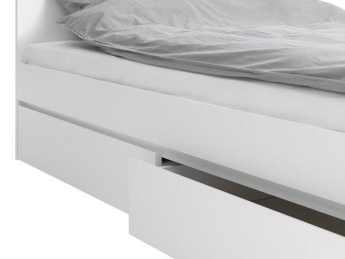 Σκελετός κρεβ. LIMFJORDEN 160x200 λευκό