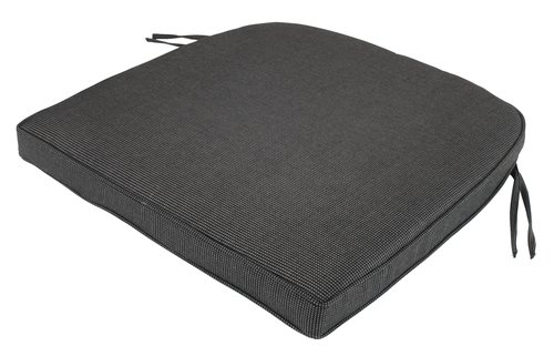Cushion chair seat UDSIGTEN black/grey