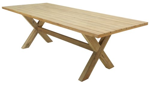 Table BREKSTAD W100xL240 teak