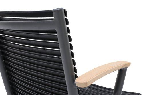 Krzesło SADBJERG szary