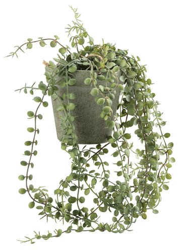 Artificial plant SVENN D11xH46cm w/pot
