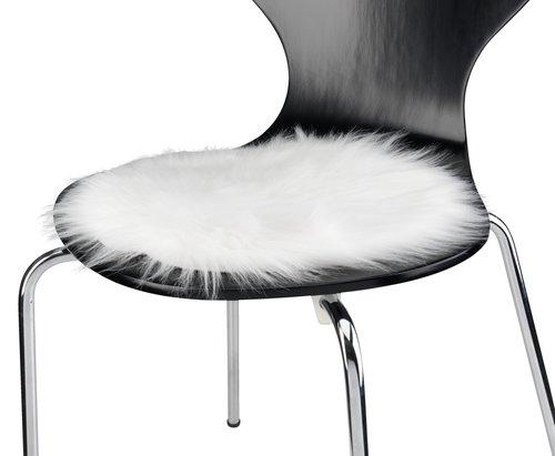 Chair cushion HORN D34 white