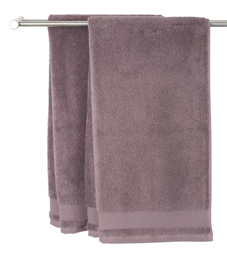 Gæstehåndklæde NORA 40x60 lilla