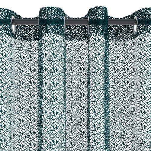Zasłona LURO 1x140x300 brudnoniebieski