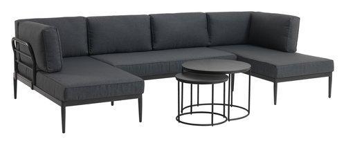 Indskudsborde MOELV Ø65/48 grå