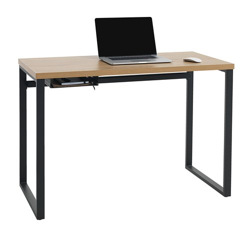 Desk AABENRAA 55x110 oak/black