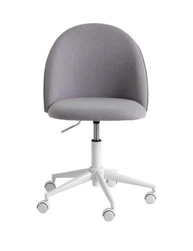 Bureaustoel KOKKEDAL grijs/wit
