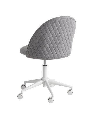 Krzesło biurowe KOKKEDAL szary/biały
