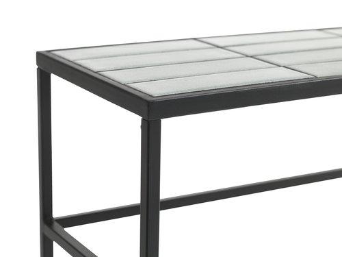 Konsolbord HARSTAD 28x84 lysegrå
