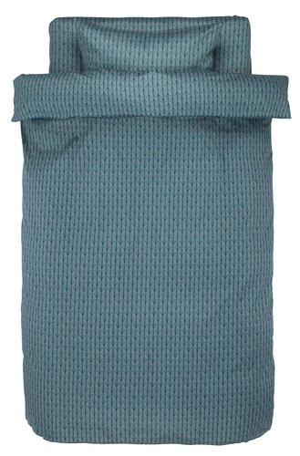 Пост. белье HANNE 140x200 серый/зеленый