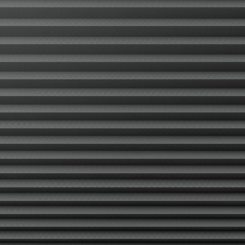 Plisségardin lystett HVEN 90x130 grå