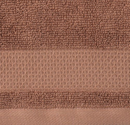 Bath towel NORA 70x140 light brown