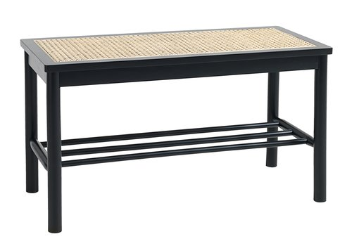 Bench BJERGHUSE black/natural