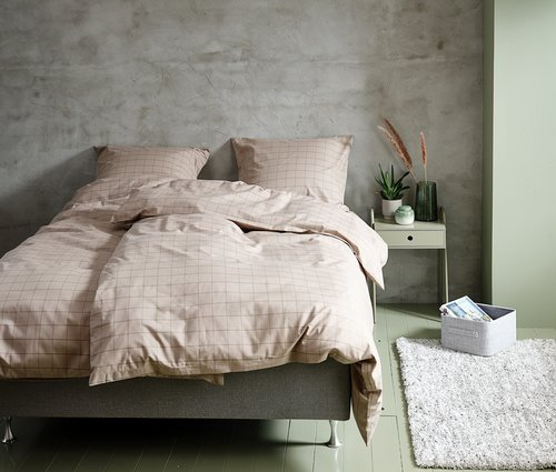 Lenjerie de pat+cearsaf TANJA 200x220