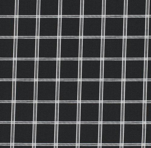 Set posteljine KARIN 200x220 bijela/crna