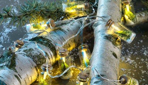 Светлинна верига FYLGJER с 10 LED