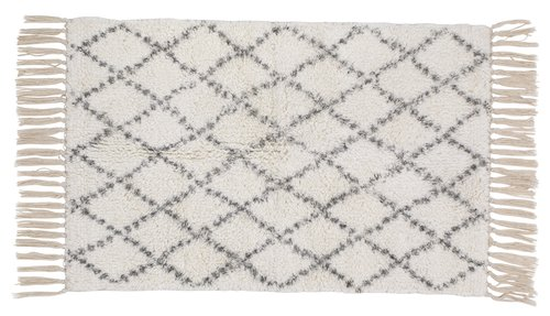 Bath mat HALLSTAVIK 50x80cm natural