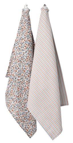 Kjøkkenhåndkle FLORA 50x70 2 stk/pk ass.
