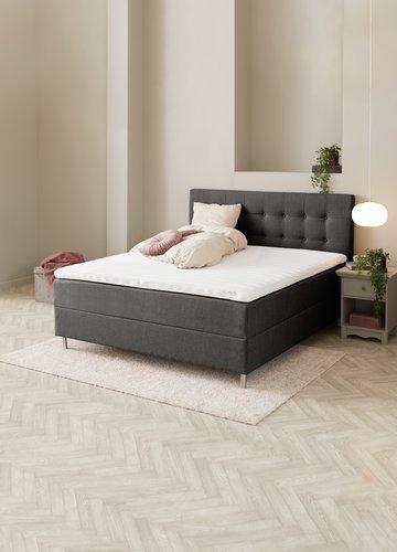 Sänggavel 90x122 H70 BUTTONS grå-28