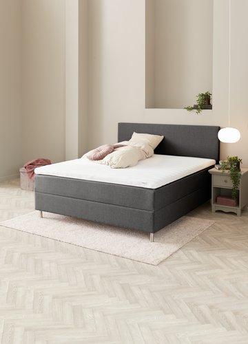 Sänggavel 140x115 H10 PLAIN grå-28