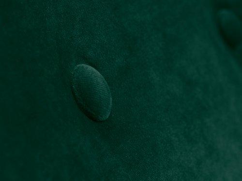 Fotoliu EGEDAL catifea verde închis