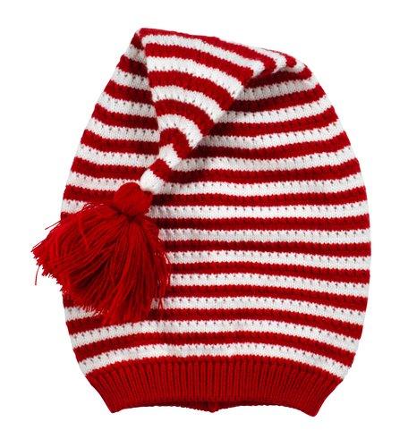 Bonnet père noël TATANLIT Ø52x55cm rouge