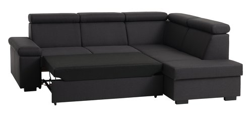 Canapea extensibilă SAHL gri închis