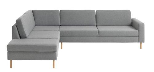 Καναπές SVALBARD ανοιχτό άκρο αρ.αν.γκρι