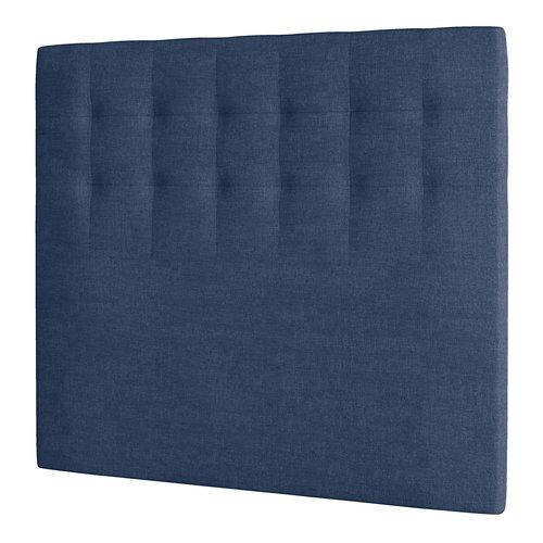 Hoofdeinde 120x125 H50 gestikt blauw-85