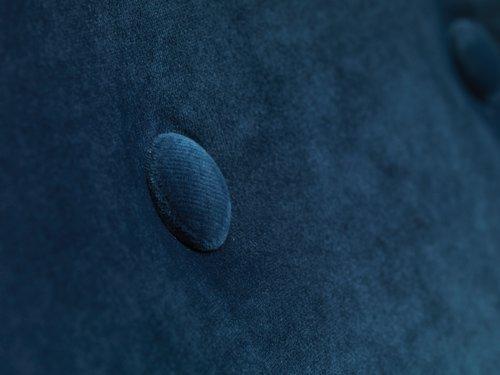 Armchair EGEDAL velvet dark blue