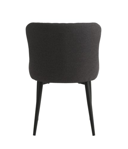 Blag. stolica PEBRINGE siva/crna
