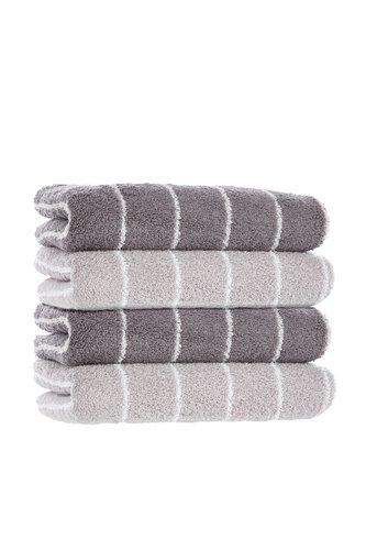 Handtuch SOFIL STRIPE anthrazit