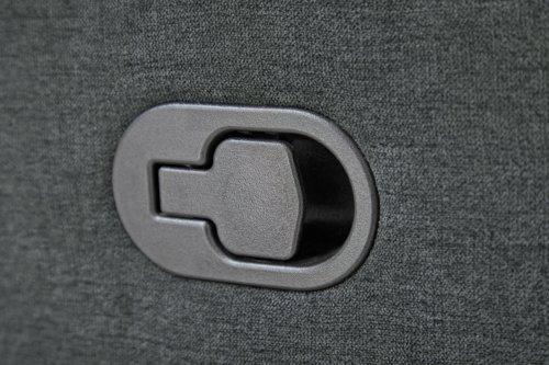 Poltrona reclinabile NAKSKOV grigio sc.