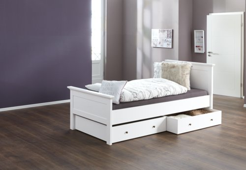 Estructura cama PARISO 90x200 blanco