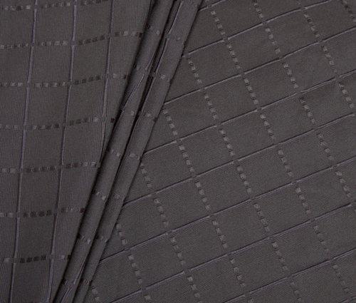 Colcha KARO 180x250 gris oscuro