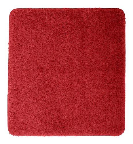 Tapis de bain UNI DE LUXE 45x50 rouge