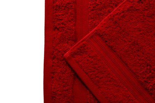 Asciugamano ospite ELEGANCE prugna