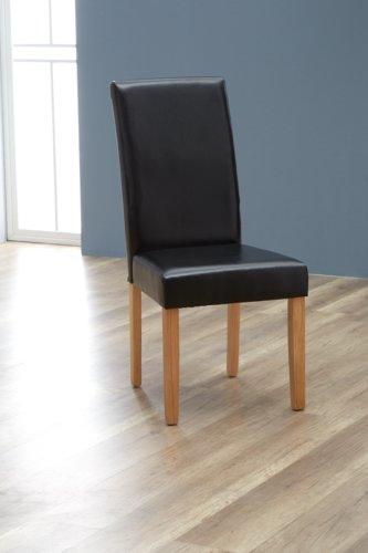 Chaise TUREBY noir