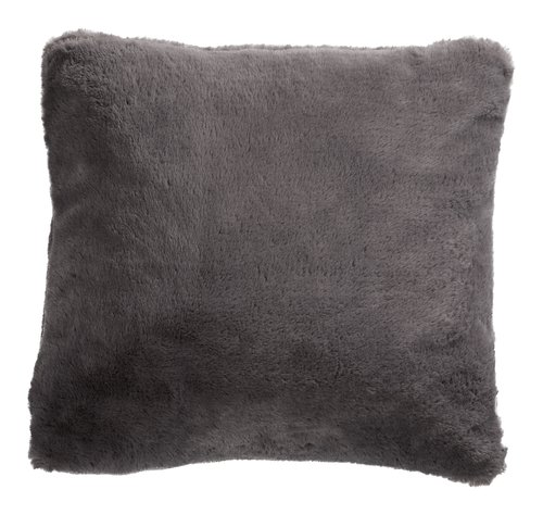 Cojín SOFT MINK 45x45 gris