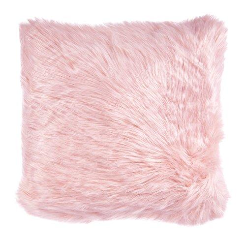 Stuhlkissen TAKS 45x45 Pelzimitat rosa