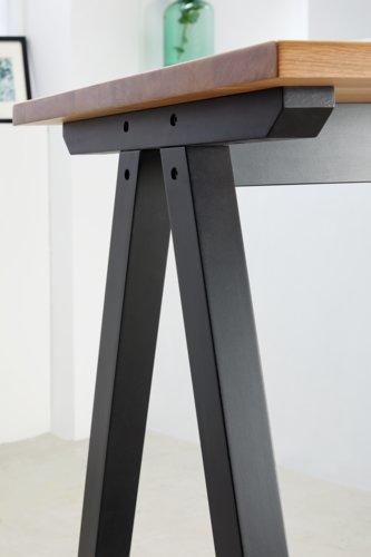 Bartisch SANDBY 71x183 Eiche/schwarz