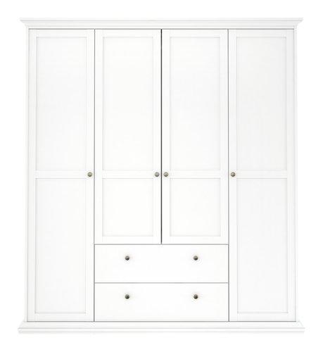 Armadio PARISO 182x201 bianco | JYSK
